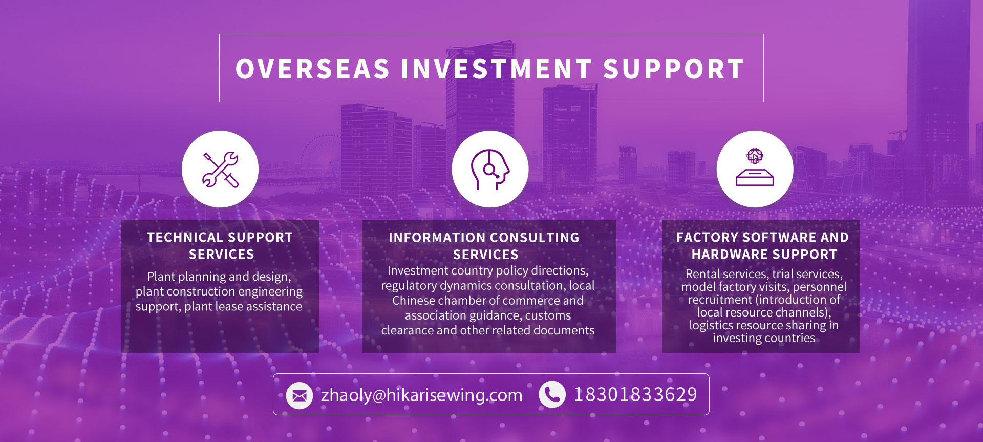 Overseas Investment Support