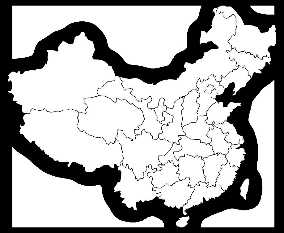 海内业务分布地图