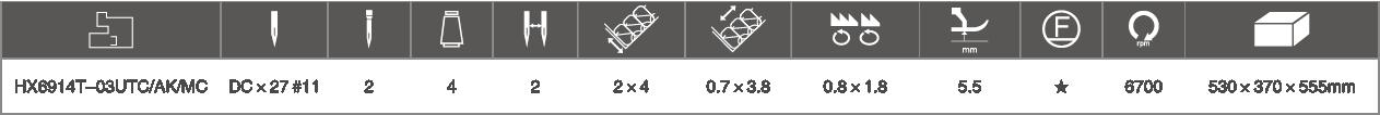型号配置规格参数表